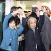 千代田区長選、小池知事支援の現職が5選