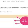 はてなブログのデザイン「Minimalism」で見出しデザインを変更する方法