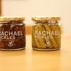 レイチェルシリーズの、ピクルスと素材系小袋フーズ。