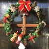 クリスマスの飾り付け。