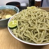 ラーメン二郎 新小金井街道店 『大つけ麺 ほぐし豚 生玉子』