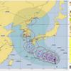 【台風情報】台風19号は20日03時には950hPaと非常に強い勢力まで発達する予想!気象庁・米軍・ヨーロッパ中期予報センター共に九州地方を回りこんで日本海へ抜ける進路予想!!