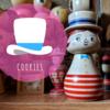 Cookies / カンカン帽の女の子こけし