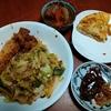 幸運な病のレシピ( 2250 )夜 :キャベツ炒め、マユのご飯