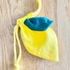 レモン巾着作りました。