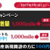 お小遣いサイト換金速報!モッピーの換金額を5000円プラス!?