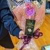 田中バドミントンクラブ 親子大会 1位は花ブーケ
