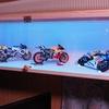 バイク模型を収納する棚を自作してみた。