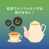 紅茶でインフルエンザの予防はできません!
