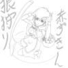 【気分転換】 5/17  「赤ずきんちゃんを描いてみた。」