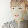 色鉛筆で肖像画!久しぶりに自画像を描いてみたよ