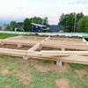 小屋作り〜組み立て〜