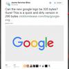 【追記あり】SVGコードゴルフと,GIZMODO「Google新ロゴ」記事へ反論