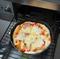 魚焼きグリルで窯焼き風のピザを焼く