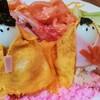 ひな祭りの簡単メニュー、雛人形風ちらし寿司。子供と手作りしたい。
