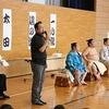 加木屋小学校におすもうさんが来た!①