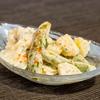春の食材で作る、新じゃがとスナップエンドウのパスタサラダのレシピ・作り方