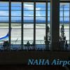 【那覇空港】飛行機を眺めよう!出発ロビー2。NAHA airport okinawa