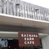 カピオラニ公園からマラサダで人気のレナーズの途中にある気になるカフェ「Kaimana Farm Cafe」カイマナファームカフェはオススメのプレートランチ店