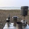 丸山県民サンビーチでキャンプデビュー