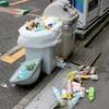 自動販売機横のゴミ箱問題