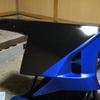 才谷屋600RRタイプのアンダーカウル補修。その6 〜自作ステッカー貼り付け〜