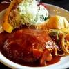 富士宮の和洋食屋さん「ころぼっくる」でおっきなハンバーグ食べてきました。