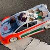 閑話休題:【痛車】ゴリラさん用のスピキンのボディを塗ったよ【手描き・手塗り】