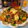 【レシピ】厚揚げと九条ネギの肉味噌炒め