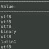 【MariaDB・備忘】文字コードが揃ってなくて文字化けがひどい