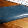 革蛸の 台形ラウンドジッパーワレット を買った