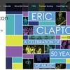 エリック・クラプトン 3月25、26日のロサンゼルス公演を延期 気管支炎でドクターストップ