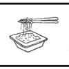 【4コマ漫画】日常でのどうでもいい出来事