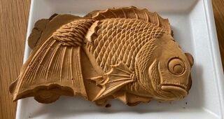 「世界で一番大きい鯛焼き」を売る鯛焼き屋さん