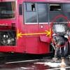 バス発火事故ー放射性物質に注意