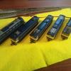 修理して動かすのにハマるw これも鉄道模型の趣味だね