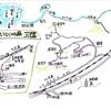 三隅・いこいの森から須佐・高山が見えます