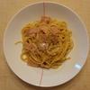 しょうゆ風味のカルボナーラスパゲティ(4回目)
