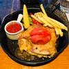 大阪・箕面『minoh ris cafe 箕面リスカフェ』で『野菜とチキンとパスタと』