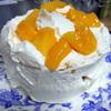 クリスマスケーキを作りました