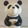 20年前に製造されたパンダのフィギュアに、美白エステを施したら新品同様に生まれ変わったよ!