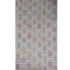 着物生地(19)変わり市松模様手織り紬