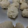 【FP使用で、ひき肉作りから】お弁当に手作り鶏だんご