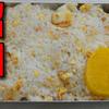 【昭和風の弁当】TOPVALU 3種のシーフードミックスを使った「焼き飯弁当」