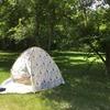 公園でみんなが使ってる日よけテントの名称は?使い方は簡単?