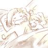 寝落ち・・・。