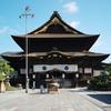 善光寺に訪れる。