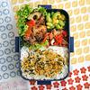 #690 味付き牛肉とレンコンの炒め物弁当