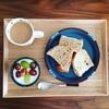 【リサラーソン】陶器の子ども用食器で朝ごはん