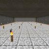 【MinecraftPC版】Part99 スライムトラップの建設(12)…湧き層建設完了 通路の建設